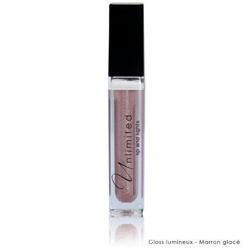 UNLIMITED Gloss Lumineux Lips & light Brillant à lèvres Actifs hydratants - Marron Glacé