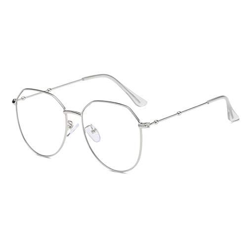 Aiweijia Fashion Unisex Retro Thin Metallrand Square Frame Optische Gläser