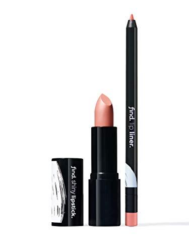 FIND - Warm Brownie (Lippenstift, glänzend n.2 + Lippenkonturstift n.2)