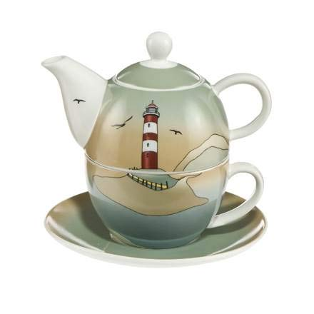 Goebel Lighthouse - Tea for One Scandic Home Scandic Home Wohnaccessoires Bunt Fine Bone China 23101011