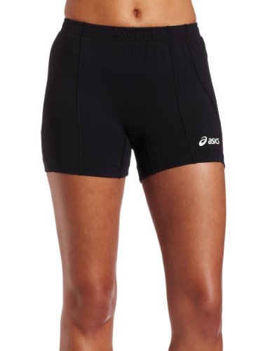 ASICS Damen Baseline Volleyball Short schwarz, Medium