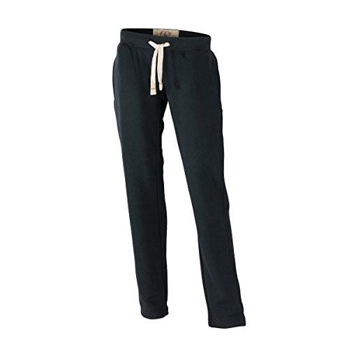 JAMES & NICHOLSON - pantalon jogging loisirs sports - look usé vintage - JN944 - Femme Noir