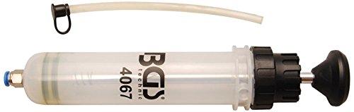 BGS 4067 , Handpumpe , 200 ml , geeignet für Motor-, Getriebe-, Hinterachsöl und Kühlflüssigkeit