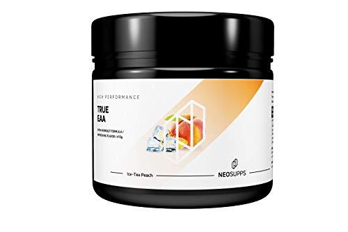 Geschmack Diät (Neosupps True EAA Ice-Tea Peach | Aminosäure Getränk | Perfekte Löslichkeit | Premium Qualität | Aspartame Free | Muskelaufbau oder Abnehmen und Diät, Geschmack:Ice-Tea Peach)