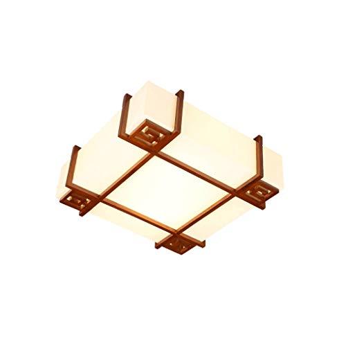 Kleine deckenleuchte antike schaffell lampe massivholz kreative holz lampen retro restaurant esszimmer studie schlafzimmer lampe Deckenleuchten - Antike Esszimmer
