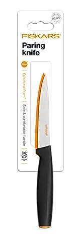 Fiskars Gemüsemesser, Gesamtlänge: 23 cm, Qualitätsstahl/Kunststoff, Functional Form, 1014205