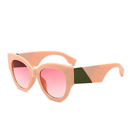 BFQCBFSG Frauen Sonnenbrille Runde Rahmen Retro Sonnenbrille Cartoon Monster Sonnenbrille Urlaub Spielen Dicke Linie Beine Männer Sonnenbrille, 5 *