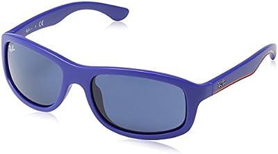 Ray Ban Junior 9058S Gafas de Sol para Niños/Niñas, Azul