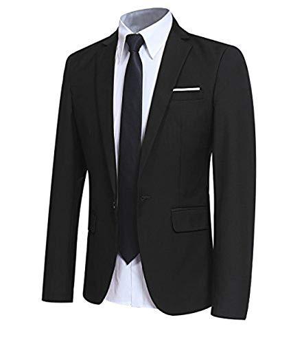 Allthemen Sakko Herren Slim Fit Sakko Modern Blazer Herren Anzugjacke für Business