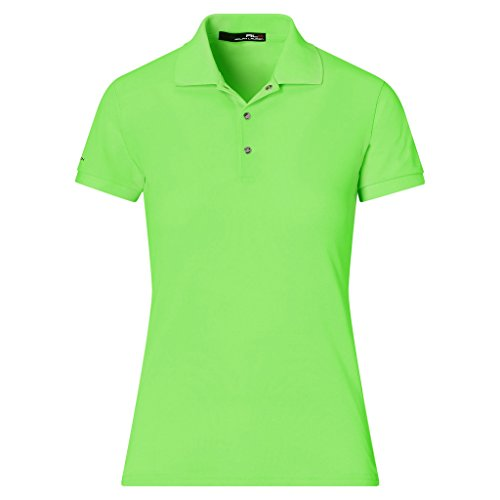 Ralph Lauren RLX Tailored Fit Mesh-Panel Polo Blaze Ultra Lime XS