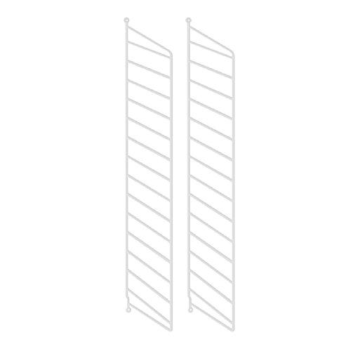 String Wandleiter 2er-Pack weiß 75 x 20cm