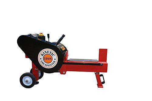 Varan Motors NEKCS-02 Kinetischer Holzspalter / Holzspalter 230V, Druck 5T, Buche bis 40cm