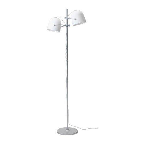 IKEA SVIRVEL Standleuchte in weiß; A++; (159cm)
