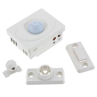 Generic LQ.. 1.. LQ.. 3007.. LQ tomatic Automatische Schalter rared M Bewegungsmelder H P Panel für für Le 12V IR Infrarot Ave Energie LED Licht sparen Energie NV _ 1001003007-cnuk22_ 628