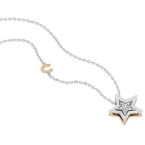 Collana donna gioielli comete stella elegante cod. glb 1448