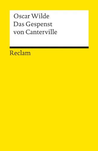 Das Gespenst von Canterville (Reclams Universal-Bibliothek)
