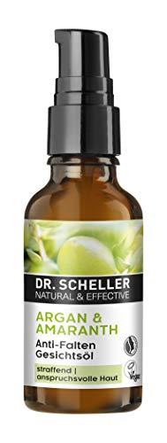 Dr. Scheller - Olio per viso anti-rughe e anti argan, 30 ml