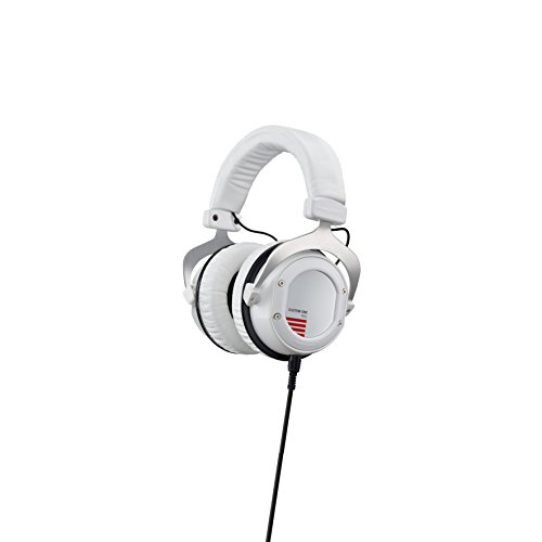 beyerdynamic Custom One Pro Plus 16 Ohm Casques - Over-Ear-Headphones en blanc - Conception fermée - câblée - son réglable