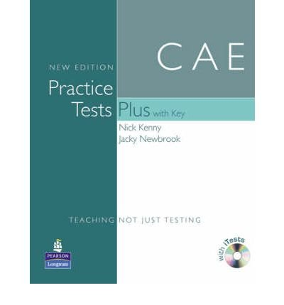 Practice Tests Plus CAE New Edition Students Book with Key/CD-ROM Pack (Practice Tests Plus) (Mixed media product) - Common