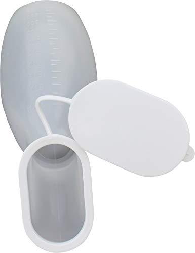 Urinflasche PP Frauen mit Deckel Urinflaschen 1,0 Liter Urin – Ente von Medi-Inn
