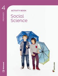 SOCIAL SCIENCE 4 PRIMARY ACTIVITY BOOK - 9788468028712