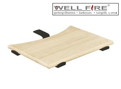 Ablageplatte Holz - Rund / Wellfire
