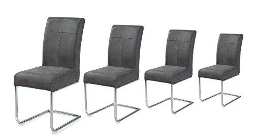 Gebraucht, 4er Set Schwingstühle, Set, Schwinger, Stühle, Esszimmerstühle,  Gebraucht