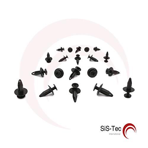 1007932 Lot de 20 rivets de fixation à clip
