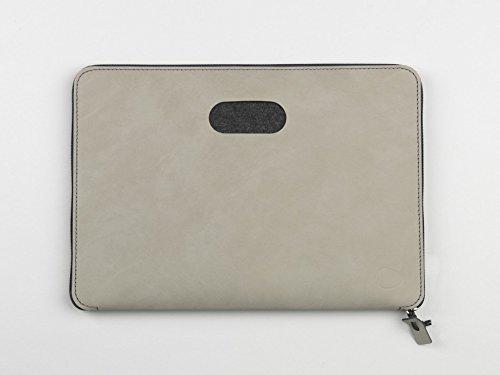 Laptoptasche Torro 13' von Lind DNA 35x26cm, Farbe:Nupo anthrazit/anthrazit Nupo anthrazit/hellgrau