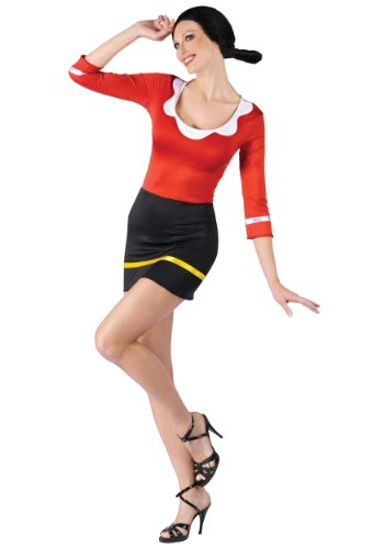 Sexy Olive Oyl Fancy dress costume -