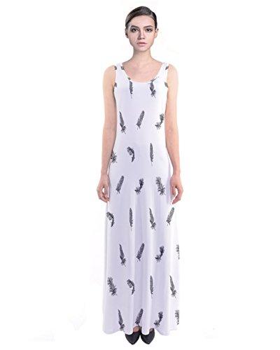 CowCow Damen Kleid Schwarz schwarz White Small