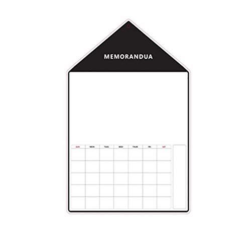 nkmagnet KüHlschrank Plus Modell Magnetic Whiteboard Message Board, Memo Oder WöChentliche Einkaufsliste - Einfach Zu Schreiben Und Wischen Anschlagtafel - WöChentlich ()