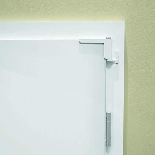MOTS V3 der Mini-Türschließer / Anlehner in weiß - einfache Montage - kein Bohren oder Schrauben