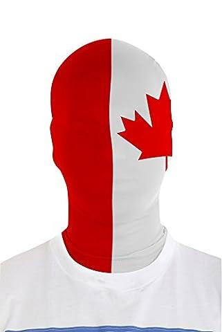 Canada Morphmask - Morphsuits mmfca morphmask Drapeau