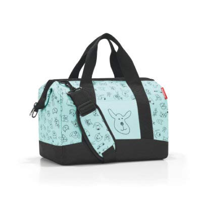 reisenthel allrounder M kids Tasche 40 x 33,5 x 24 cm/18 l / cats and dogs mint