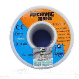 0.6mm Fil à souder Fil à souder Bobine Classical Mechanic HX-T100