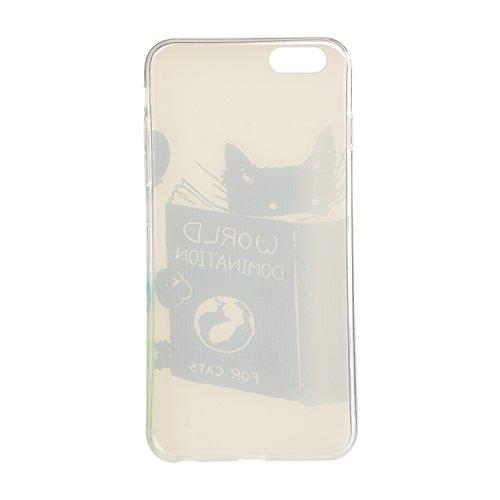 Etui Coque TPU Slim Bumper pour Apple iPhone 6 (4,7 pouces) Souple Housse de Protection Flexible Soft Case Cas Couverture Anti Choc Mince Légère Silicone Cover Bouchon -photo Frame Keychain #AY (11) 6