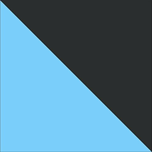 jackmar | estructura en negro | Neumáticos de Aire en cromo | 3en 1cochecito Mega Set (12piezas), 13colores en Stock negro Schwarz & Türkis