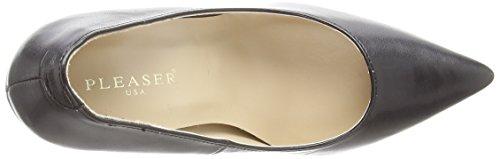 Pleaser  CLASSIQUE-20, Chaussures à talons - Avant du pieds couvert femmes Noir - PU noir