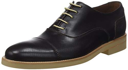 Lottusse L6591, Zapatos Cordones Oxford Hombre, Marrón