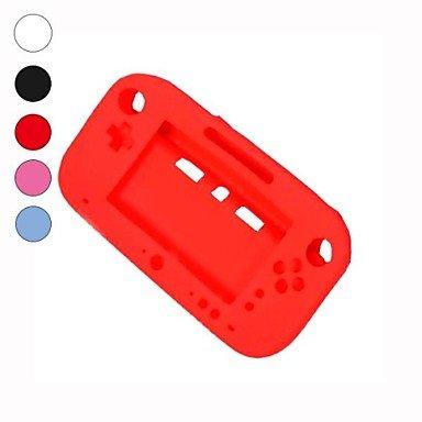 weiche Silikon vollen Schutz Gel-Fall-Abdeckung Schutzhülle für Nintendo Wii U Gamepad , Black Psp-gel-fall