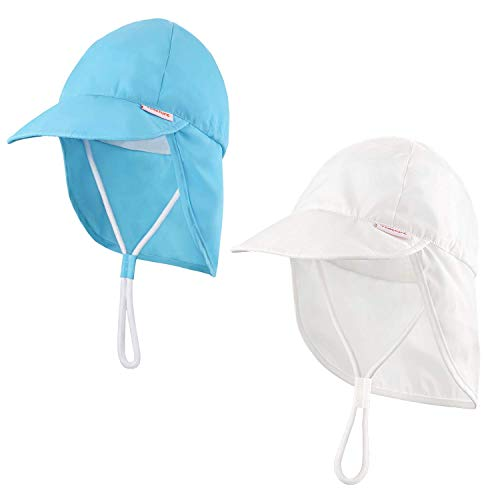 Niños Bebé Sombrero de protección Solar UPF 50+ (6...
