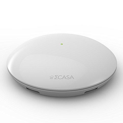 Sigma Casa Smart Weather Sensor – aktuelle Wetter-Daten Temperatur, Luftfeuchte und Luftdruck, Übermittlung durch Smart-Home Haus-Automatisierung auf Smartphone oder Tablet via Bluetooth - 2