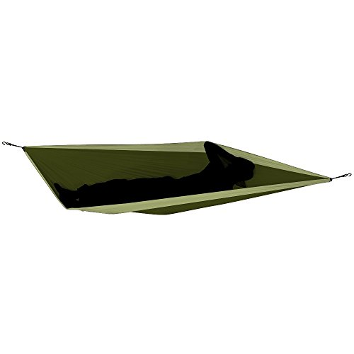 TICKET TO THE MOON Hängematte, Single size – armygrün /khaki - 3
