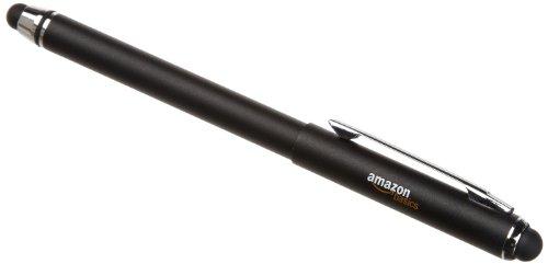 AmazonBasics Multi-Tip - Stylet pour tablettes Kindle Fire, Kindle Paperwhite et appareils à écran tactile - Noir