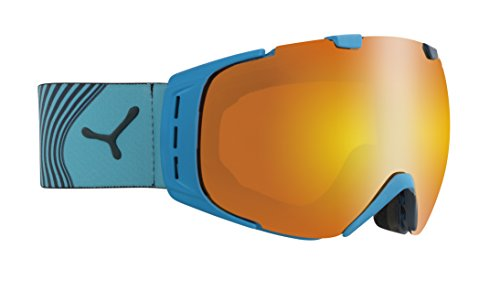 Cébé Skibrille Origins Flash Fire Cyan, L