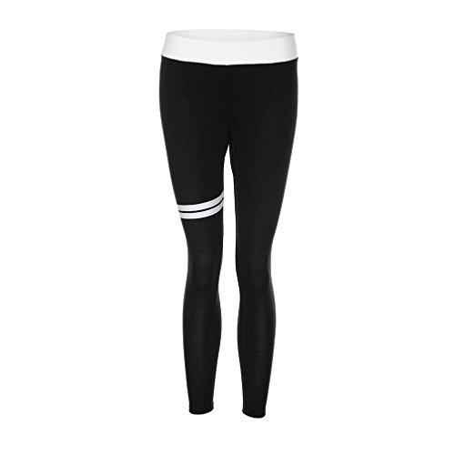 Tpulling - Leggings sportivi -  donna Nero
