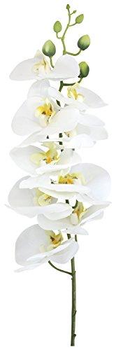 Kunst-Pflanze Orchideen-Zweig 84cm 1 Stück