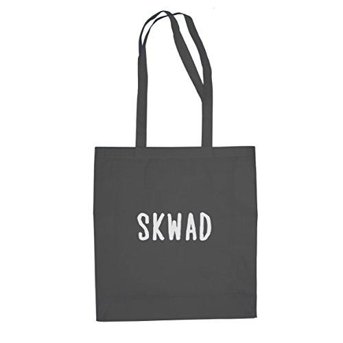 SKWAD Tattoo - Stofftasche / Beutel, Farbe: grau