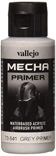 Vallejo AV Mecha Acryl-Farbe für Airbrush, 60 ml, Grey Primer, 60 ml